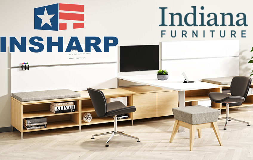Indiana Furniture recognized by INSHARP for workplace safety