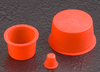Caplugs introduces tapered silicone caps and plugs