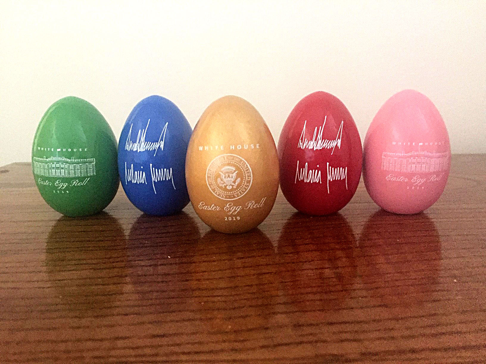 White House Easter eggs made in Maine   Woodworking Network